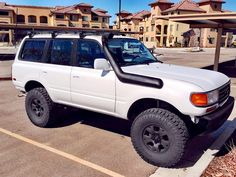 Land Cruiser Fj80, Toyota Land Cruiser, Toyota 4x4, Toyota Trucks, Landcruiser 80 Series, Lexus Lx450, Discovery 2, Expedition Vehicle, Offroad