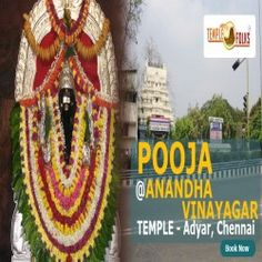 Ananda Vinayaka Temple puja #TemplePooja Ananda #VinayakaTemple is situated in Adyar, Chennai. In this Shrine #LordGanesha is worshipped as Venkatesha Anandha Vinayaka. Devotees worship this deity to nullify all the obstacles that hinders their professional success.