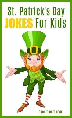 These St Patrick's Day jokes for kids are sure to ignite a few giggles! #stpatricksday