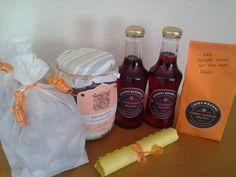 - Brownie-Backmischung - Eisteesirup 'Hibiskus-Hagebutte' - Curry-Vanille-Cashews - Kinder Friends Mischung - Haribo Glücksmischung