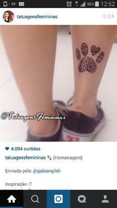 Dog tattoo / Tatuagem de cachorro