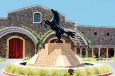 http://blackstallionwinery - on the grounds of a historic equestrian center