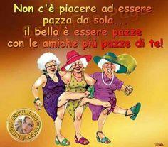amicizia Italian Humor, Italian Quotes, Love List, Emoticon, Einstein, Bff, Friendship, Best Friends, Funny