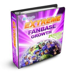 EXTREME FANBASE GROWTH™ - 21 Insanely Effective Ways to Expand Your Facebook Impact. Created from the very latest proven, effective Facebook tips and strategies, it's been designed from the ground up to help you grow a truly AUTHENTIC following -- faster than you ever dreamed possible.