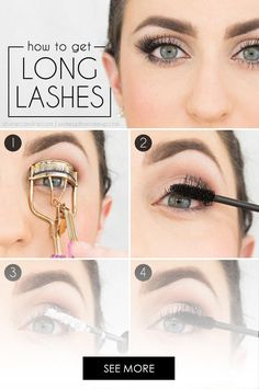 Beauty Hacks Every Woman Needs To Know – Krissy Riley Beauty Hacks Every Woman Needs To Know Use Baby Powder To Make Your Eyelashes Look Longer. Get Long Eyelashes, Fake Lashes, Longer Eyelashes, False Eyelashes, Grow Eyelashes, Silk Lashes, Eye Smile, Makeup Tips, Beauty Tips