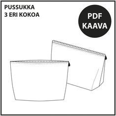 Ilmaiset ompelukaavat Archives ⋆ Page 3 of 3 ⋆ Jujuna Diy Crafts For School, Jean Crafts, Page 3, Pdf, Cards Against Humanity, Letters, Teaching, Sewing, Handicraft