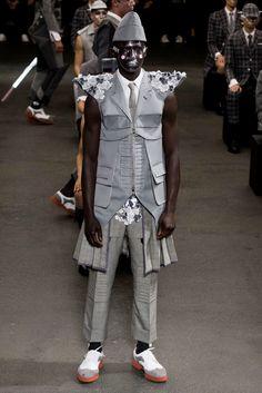 Thom Browne Menswear Spring 2015