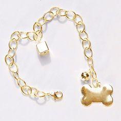 Corrente Masculina Ouro Os Peludos - MeuAmigoPet.com.br #petshop #cachorro #cão #meuamigopet