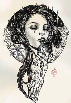 Pin ups e ilustraciones de Adam Isaac Jackson - Taringa!