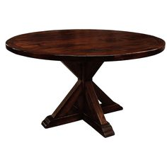 Made to Order La Phillippe Reclaimed Wood Round Dining Table - Overstock™ Shopping - Great Deals on Dining Tables 60 Round Dining Table, Round Table Top, Pedestal Dining Table, Best Dining, Dining Table In Kitchen, Dining Tables, Dining Rooms, Kitchen Nook, Kitchen Ideas
