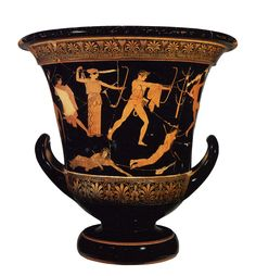 De wrede kant van Apollo: met zijn zus schieten ze de niobiden dood, de zonen van Niobe, die hun moeer Leto had beledigd. Sommige versies van de mythe vertellen dat een of twee van de kinderen werden gespaard.