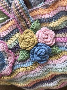 Attic24 pattern. Debbie Bliss Baby Cashmerino yarn. Bliss, Blanket, Crochet, Pattern, Baby, Handmade, Crocheting, Hand Made, Blankets