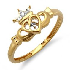 I am very impressed by this 0.03 Carat (ctw) 10k Yellow Gold Round Diamond Ladies Bridal Promise Irish Love and Friendship Band Claddagh Heart Shape Ring (Size 7), all are the things that made my decision to purchase 0.03 Carat (ctw) 10k Yellow Gold Round Diamond Ladies Bridal Promise Irish Love and Friendship Band Claddagh Heart Shape Ring (Size 7).