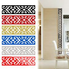 Tile Decoration Stickers Magnificent Large Europe Ceiling Paper Mirror Stickers Tile Stickers Wall Inspiration