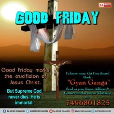 Good friday makes the ajcifixion of Jesus christ. But supreme god never dies. Good Friday ideas to Christmas Gifts for Families. Crucifixion Of Jesus, Jesus Christ, God Jesus, Jesus Prayer, Savior, Church Readings, Easter Camping, Holy Friday, Good Friday Quotes