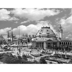 Pan American Exposition, Buffalo NY 1901 (Delaware Park) - Ethnology Building