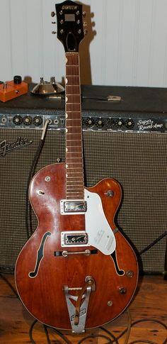 1965 Gretsch 6119 Chet Atkins Tennessean Electric Guitar