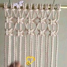 How to make macrame simple easy and fast handmade, #Easy #Fast #handmade #Macrame #Simple<br> Handmade Crafts, Diy Crafts, Simple Crafts, Mango Syrup, Macrame Art, New Trends, Alcoholic Drinks, Arts And Crafts, Pure Products
