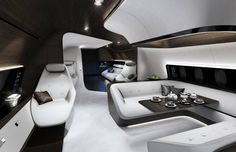 Have you seen the VIP aircraft design concept from World Superyacht Awards sponsors @lhtechnik and @MercedesBenz? Its the ultimate in private air travel Watch this space! #WSAwards #luxurytravel #boatinternational by boatinternational
