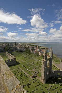 Ruins of St Andrews Cathedral, Scotland