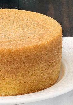 Italian Sponge Cake! Baking Recipes, Cake Recipes, Dessert Recipes, Just Cakes, Cakes And More, Just Desserts, Delicious Desserts, Italian Desserts, Cake Cookies