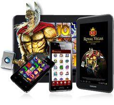 En tu celular, en tu Ipad o en donde tu quieras, podrás jugar y Ganar en el Casino de Royal Vegas!!!  donde  la diversión y las oportunidades de Ganar nunca terminan!!!
