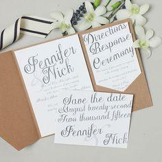 20 best pocket wedding invitations images invites pocket wedding