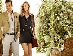 Massimo Dutti campaña Primavera-Verano 2013: la historia de amor (por la ropa clásica) continúa
