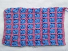 crochet scarf- love the stitch