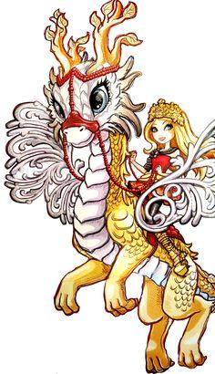 Dragon Games - Apple and Braebyrn