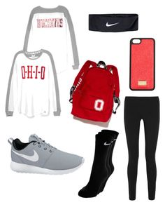 Designer Clothes, Shoes & Bags for Women Pink Nike Shoes, Pink Nikes, Pink Outfits, Cute Outfits, School Outfits Tumblr, Fall College Outfits, Helmut Lang, Girls Shopping, Ohio