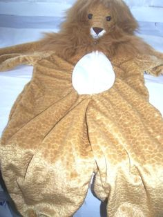 Toddlers Lion Halloween Costume Size 3T - 4T #CompleteCostume