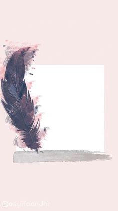 New Ideas For Wallpaper Pastel Feder Framed Wallpaper, Flower Background Wallpaper, Background Pictures, Screen Wallpaper, Background Patterns, Background Quotes, Feather Background, Pastel Background, Wallpaper Paste