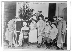 Berlin -- Christmas in soldier's hospital (LOC) by The Library of Congress, via Flickr