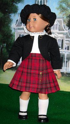 EMILY TARTAN 1 by Sugarloaf Doll Clothes, via Flickr