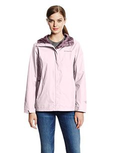 New Trending Outerwear: Columbia Women's Arcadia II Jacket, Whitened Pink, Large. Special Offer: $59.90 amazon.com Waterproof, breathable, and packable, this rainy-day-MVP women's jacket is built to shield you from wet weather out on the trail and then stow away into a corner of your pack when the sun returns. An Omni-tech membrane combines with full seam sealing...