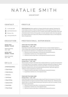 Resume Templates Product Images Word Co