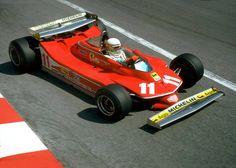 Jody Scheckter - Ferrari T4 - Monaco GP