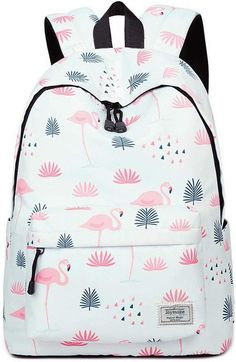 Backpack Women Winner Fashion Backpack Flamingos Cute School Bags For Adolescent Travel Rucksacks Laptop Mochilas Mujer 2018 Cute Girl Backpacks, Roxy Backpacks, Unique Backpacks, School Backpacks, Animal Backpacks, Cute School Bags, School Bags For Girls, Diaper Bag Backpack, Laptop Backpack