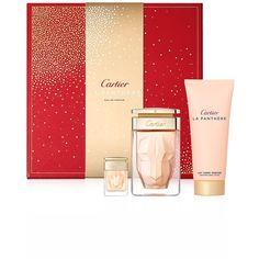 1a914e9c10d La Panthère Eau de Parfum 75 ml gift set with 100 ml Body Lotion   6 ml  Miniature  Elegant gift sets to discover Cartier perfumes or introduce them  to a ...