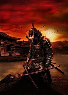 Resultado de imagem para samurai art