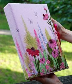 spring fabric craft ideas | spring crafts: miracle felt pictures handmade – ideas - crafts ideas ...
