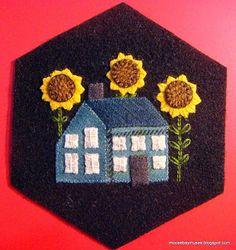 Stitching Society Hexagons