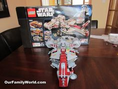 Lego Star Wars Republic Frigate 7964: hours of pleasure