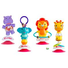 Designed for playtime and teething, these suction cup toys attach to any smooth surface. • https://tinytotsbabystore.com/product/bumbo-suction-toy-baby-toys/?utm_content=buffer4184b&utm_medium=social&utm_source=pinterest.com&utm_campaign=buffer