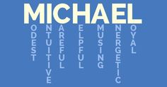 What Does MICHAEL Mean?