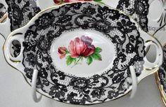 Lovely Royal Albert SENORITA Bone China OVAL NUT DISH Made In England RARE #RoyalAlbert