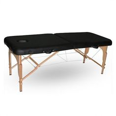 Alva Portable Massage Bed is comfortable, durable, and easy to transport. The Alva is finished with rich black vinyl upholstery for durability Nail Salon Furniture, Bed Furniture, Outdoor Furniture, Outdoor Decor, Massage Bed, Massage Table, Spa Chair, Shops, Adjustable Beds
