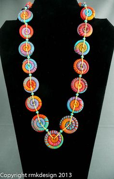 texas tornado disk necklace BS-3 by ketztx4me, via Flickr