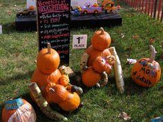 Halloween fun: Breastfeeding pumpkins!
